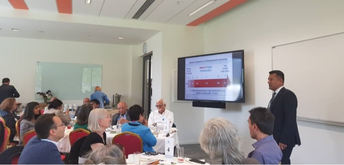 Presentation at HEF